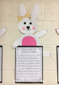 How to Catch the Easter Bunny: A FREE Writing Craftivity