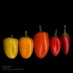 SHINY and BRIGHTCHIQUINOS by magdaindigo  IFTTT 500px Nikon D7000 black-background chiquinos colour conceptual Art design food magda indigo