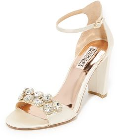Badgley Mischka Lennox Sandals at shopbop.com #affiliatelink