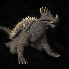 The X-Plus Toho 30cm Series Anguirus 1968 vinyl figure.