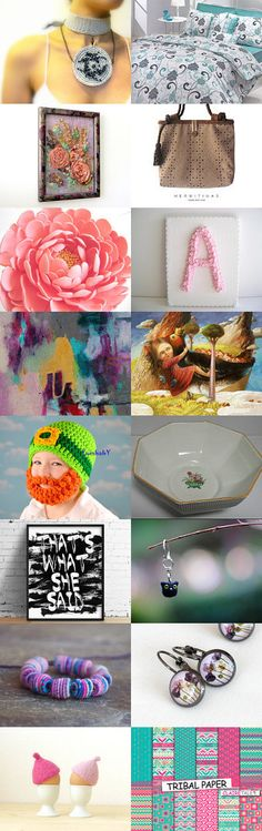 TenX Treasury Part 19 - 2/25/15 by Trish Hargey on Etsy--Pinned with TreasuryPin.com