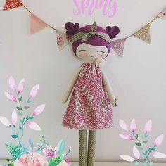 Hello spring!  The purple doll is AVAILABLE IN MY ETSY SHOP!!!!! Is adorable  Is sweet  Is handmade  % AVAILABLE IN MY ETSY SHOP TODAY!!! #mbdesings #handmade #handmadedoll #handmadetoys #dollsforkids #softdoll #sweetdoll #doll #makerdoll #dolls #sweet #muñeca #cottondoll #cotton #felt #feltdoll #heirloomdoll #hechoamano #work #poupée #wool #picoftheday #flower #dollmakingprocess #etsy #etsyshop #portrait #purple #purpledoll