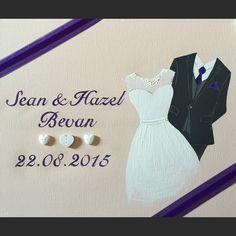 Wedding outfits canvas Name Canvas, Canvas Artwork, Wedding Canvas, Happy Day, Wedding Outfits, Formal Dresses, Paint, Art On Canvas, Wedding Undergarments