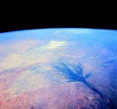 the okavango delta (from space)