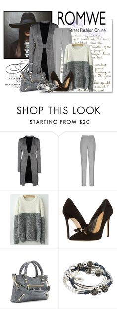 """Untitled #1406"" by srogers844 ❤ liked on Polyvore featuring Rick Owens, Reiss, Dsquared2, Balenciaga and Lizzy James"