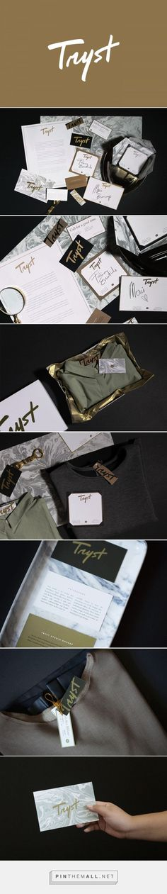 Tryst Fashion Boutique Curator Branding by Tintin Lontoc