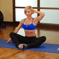 Seated Overhead Stretch