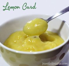 PANELATERAPIA - Blog de Culinária, Gastronomia e Receitas: Lemon Curd