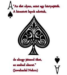 Dzsaváharlál Néhrú idézete az élet alakulásáról. A kép forrása: Új Kor Klub # Facebook Words Quotes, Life Quotes, Timeline Photos, Einstein, Playing Cards, Messages, Inspiration, Kara, Type 1