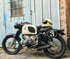 Classic Motorcycle, Classic Bikes, Bmw Vintage, Bmw Scrambler, Bmw Boxer, Bmw Cafe Racer, Old Bikes, Mopeds, Moto Style