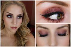 Tutorial | Purple and Orange Smoky Eye | Morphe 35N Palette
