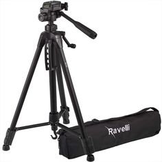 Ravelli Lightweight Aluminum Tripod, Includes Carry Bag and Universal Smartphone Mount Lomo Camera, Mini Camera, Camera Test, Best Dslr, Best Camera, Cameras Nikon, Best Electric Scooter, Camera Cards, Camera Prices
