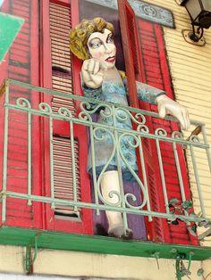 La Boca - street art - c by NigelDurrant