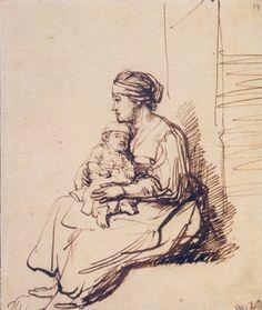 """Psalm 131/Salmo 130 """"Uspokoiłem i uciszyłem moją duszę; jak dziecko na łonie swej matki."""" """"I have set my soul in silence and peace. As a child has rest in its mother's arms."""" """"Acallo y modero mis deseos, como un nińo en brazos de su madre."""""""