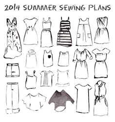 2014 Summer Sewing Plans
