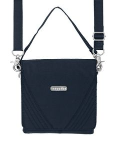 Loving this Navy Divide Crossbody Bag on #zulily! #zulilyfinds Baggallini $24.99 from 55.00
