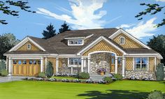 Inviting Atmosphere - 3922ST | 1st Floor Master Suite, Craftsman, PDF, Ranch, Split Bedrooms | Architectural Designs