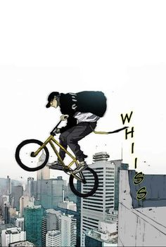 Bike Illustration, Wind Breaker, Naruto Shippuden Anime, Bicycle Art, New Age, Webtoon, Manhwa, Cycling, Wheels