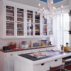 Crafts Rooms -- A Place to Create. Love this one.