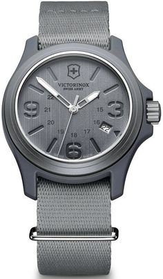 @vxswissarmy  Watch Original #bezel-fixed #bracelet-strap-synthetic #brand-victorinox-swiss-army #case-material-aluminium #case-width-40mm #classic #date-yes #delivery-timescale-call-us #dial-colour-grey #gender-mens #movement-quartz-battery #official-stockist-for-victorinox-swiss-army-watches #packaging-victorinox-swiss-army-watch-packaging #style-dress #subcat-original #supplier-model-no-241515 #warranty-victorinox-swiss-army-official-3-year-guarantee #water-resistant-100m