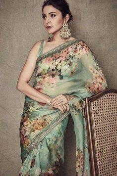Fashion is like food; you shouldn't stick to the same menu. #clothing #fashion #style #streetwear #clothes #art #brand #fashionblogger #model #streetstyle #instagood #design #outfit #clothingline #fashionista #designer #outfitoftheday Saree Designs Party Wear, Party Wear Sarees, Trendy Sarees, Stylish Sarees, Organza Saree, Chiffon Saree, Sari Silk, Georgette Saree Party Wear, Net Saree