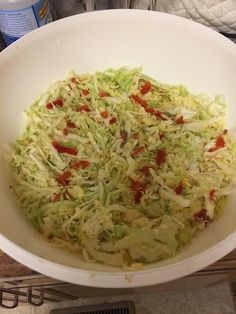 Amish Dinner Slaw and 4 Other Amish Slaws