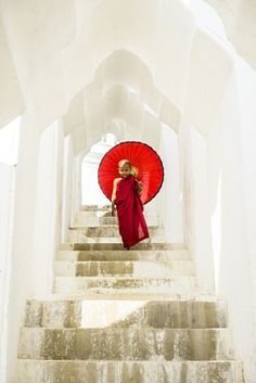 View Stock Photo of Asian Buddhist Monk Carrying Umbrella On Staircase At Hsinbyume Pagoda Mandalay Sagaing Myanmar. Find premium, high-resolution photos at Getty Images. Buddha Drawing, Zen, Buddhist Monk, Mandalay, Buddhism, Royalty Free Images, Stock Photos, Prints, Paintings