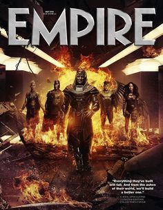 Empire's X-MEN: APOCALYPSE Subscribers' Cover Features 'En Sabah Nur' And His Four Horsemen