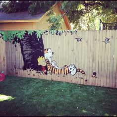 I am totally painting this on my fence when i get a house. Or in my kids room. Either way it is happening.