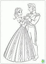Frozen coloring pages, coloring Frozen, Disney's Frozen coloring pages- DinoKids.org