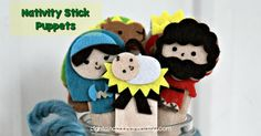 Nativity Stick Puppets https://www.sightandsoundreading.com/nativity-stick-puppets/?utm_campaign=coschedule&utm_source=pinterest&utm_medium=Mrs.%20Karle%27s%20Sight%20and%20Sound%20Reading%7C%20Literacy%20Lesson%20Plans%20and%20%20educational%20activities&utm_content=Nativity%20Stick%20Puppets Christ is the reason for the Christmas season.  Today I would like to share with you some easy craft:  Nativity Stick Puppets