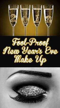 Fool-Proof New Year's Eve Make Up!