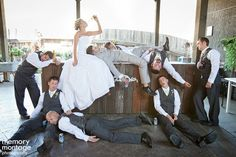 OMG! @Shannon Bellanca Wells Diaz this is a must with the entire bridal party!!!! Lol