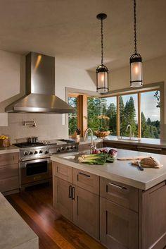 Kitchen Concrete Countertops-19-1 Kindesign