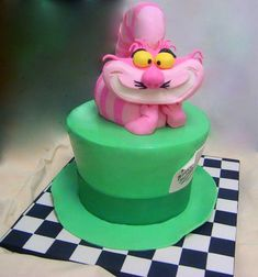 Madhatter Sweet 16 Sweet 16 Cake