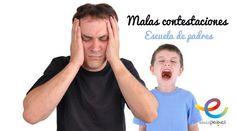 Evita las malas contestaciones en los niños