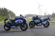 Equipe Suzuki de competição celebra os 30 anos da esportiva GSX-R - Duas Rodas - Notícias, Testes, Vídeos e Lançamentos de Motos