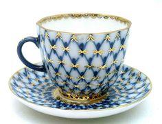 Stunning russian tea cup