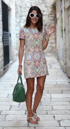 Ways to Wear the Today - gowns & fancy dresses - Summer Fashion For Teens, Summer Fashion Outfits, Women's Fashion Dresses, Fall Outfits, Casual Dresses, Casual Outfits, Cute Outfits, Swimwear Fashion, Ideias Fashion
