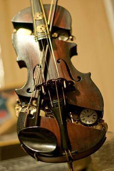 Mechanical Violins #SteamPUNK ☮k☮