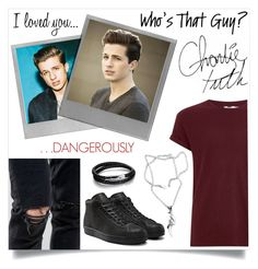 """""""Charlie Puth inspired outfit #1"""" by abigail-fredricks ❤ liked on Polyvore featuring Polaroid, Topman, ASOS, N'Damus, adidas, NOVICA, men's fashion, menswear, MensFashion and attention"""