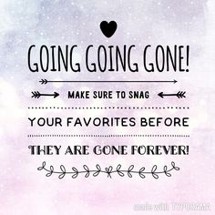 Going Going Gone Jamberry