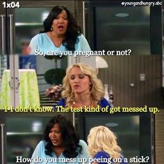 "#YoungAndHungry 1x04 ""Young & Pregnant"" - Gabi and Yolanda"