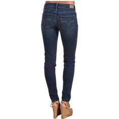 Levi's Womens 535 Legging Women's Jeans ($32) ❤ liked on Polyvore