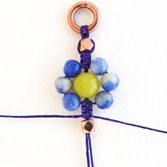 TUTORIAL Macrame Flower Bracelet by ErinSiegelJewelry on Etsy, $15.00