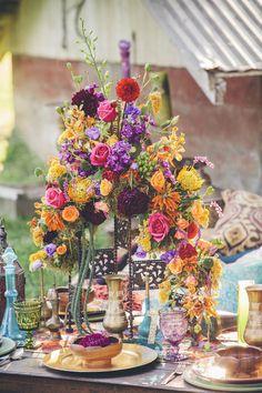 Moroccan Inspired Wedding Ideas