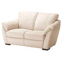 ÄLVROS 2er-Sofa - Mjuk hellbeige - IKEA