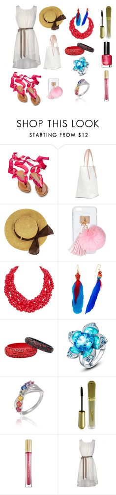 """192"" by agnesmocsai on Polyvore featuring Ashlyn'd, Humble Chic, Nach Bijoux and Max Factor"