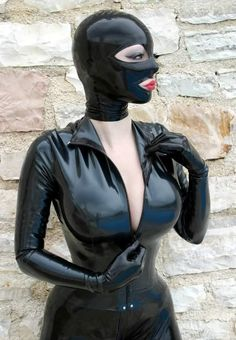 Latex Lucy | catsuit | hood
