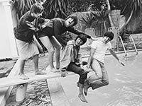 The Beatles prepare to make a splash in America.